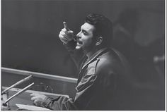 The revolution made its last push in December of 1958. Left is a picture of Che speaking to the locals about the revolution on the way to Havana. During the last few weeks of the revolt Che entered into a relationship with Aleida March. Once the overthrow was secure, Che divorced his first wife and married Aleida. Once Fidel took power Che emerged as a key military and political figure