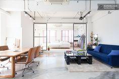 Design Loft In Central Tokyo 100m2 - https://www.airbnb.com/rooms/2573302