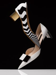 Project Idea! Get white canvas shoes and put chevrons on them! David Lewis Taylor — Accessories (W)