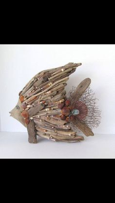 Drift wood art