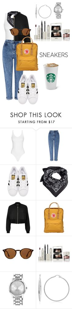 """""""super ⭐️"""" by ranah23 ❤ liked on Polyvore featuring Miss Selfridge, adidas Originals, MANGO, River Island, Fjällräven, Ray-Ban, Smith & Cult, Nine West and Sterling Essentials"""