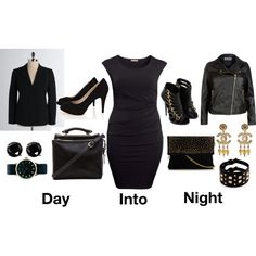 """""""Day into Night / Plus Size Style"""""""