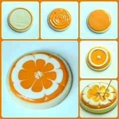 step by step citrus slice cookie how to
