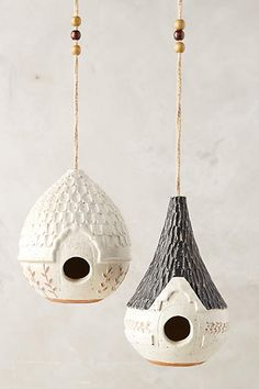 Cottage Bird House - anthropologie.com