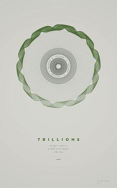 derek boateng: trillions_Trillions is part of a self-initiated poster project by Derek Boateng.