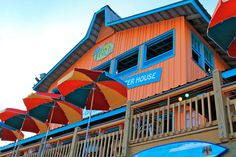 The Back Porch Destin, Florida Great food. Right on the beach.