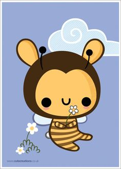 Bunny Bee by Cute-Creations.deviantart.com on @deviantART