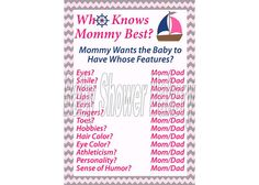 Hey, I found this really awesome Etsy listing at http://www.etsy.com/listing/157860196/girl-nautical-baby-shower-game-who-knows