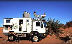 "Would you love this as a ""Bug Out"" vehicle? Off Road Camping, Truck Camping, Adventure Campers, Off Road Adventure, Overland Truck, Expedition Vehicle, 4x4 Trucks, Motorhome, Bug Out Vehicle"