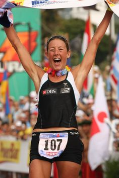 Chrissie Wellington - the most dominate champion ever. My personal Ironman hero