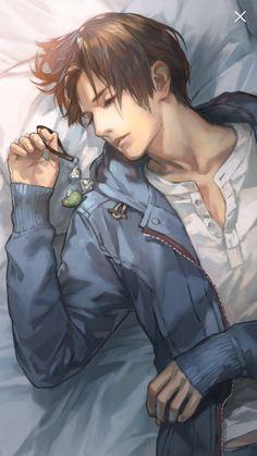 Toraware no paruma android/ios mobile app game anime guy hot, anime boys, c Hot Anime Boy, Anime Boys, Chica Anime Manga, Cute Anime Guys, Manga Boy, Brown Hair Anime Boy, Yandere Manga, Amazing Phil, Sleeping Pose