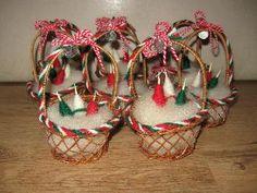 Битови кошнички за Баба Марта | Ръчна изработка
