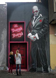 """""""LA CASA DI SILVIO"""" MTO (Graffiti Street art)"""