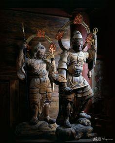 兵庫県 温泉寺 毘沙門天 増長天 Buddha Sculpture, Gautama Buddha, Buddhist Art, Religious Art, Asian Art, Buddhism, Mythology, Religion, Sculptures