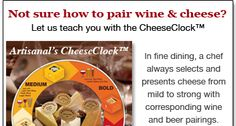 Need cheese for my wine This guide is awesome! Need Wine, Beer Pairing, Cook Up A Storm, Wine Cheese, Wine And Beer, Tailgating, Artisanal, Fine Dining, Gift Baskets