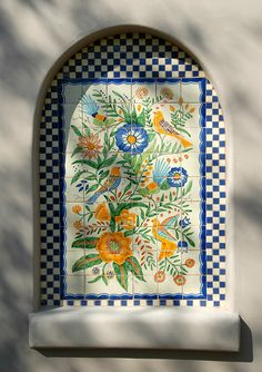 Mexican Tiles Arizona by Teyacapan, via Flickr  DAVE BUILT SOMETHING LIKE THIS OVER HIS GRILL.. you should see their home... he did all the mexican tile floors and trims.. gorgeous