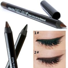 [Visit to Buy] Party Queen Brand 2017 New Eye Liner Pencil Makeup Long Lasting Waterproof Black Brown Color Pencil Eyeliner Gel #Advertisement