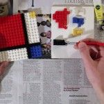 An Impressive Piet Mondrian Painted with Stop-Motion Lego by Jon Rolph