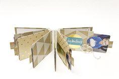 Minialbum by Kreativsüchtig: Meine Flohmarktschätze