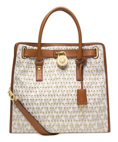 Michael Michael Kors Hamilton Studded Large North/South Tote - on #sale 25% off @ #Macys  #MichaelKors
