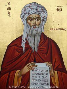 St. John of Damascus by Marie Lavie