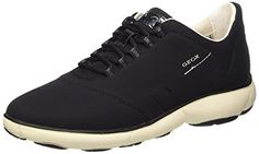 Geox Womens D Nebula Women's Walking Shoes Shoe Black 41 EU105 M US * You can get additional details at the image link.