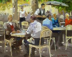 Andr� Deymonaz 1946 | French Impressionist painter