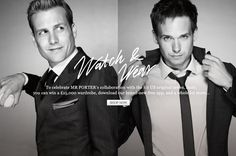 Suits & Style - Gabriel Macht & Patrick J. Adams from 'Suits'