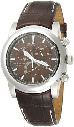 Citizen Men s Eco-Drive Chronograph Stainless Watch ccba2a641f