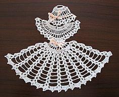 Crinoline Lady Motif - Free Pattern