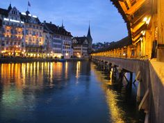 Luzern -- fun photo of my beautiful hometown