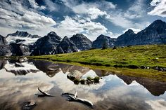 Love this photography from Ugallery. Ten Peaks and Larch Valley by Jay Moore.