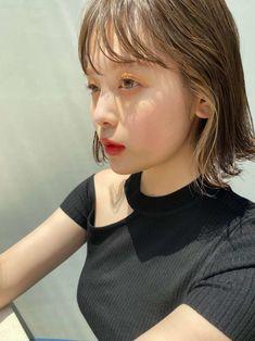 Hair Inspo, Hair Inspiration, Korean Hair Color, Beautiful Haircuts, Shot Hair Styles, Hair Images, Japanese Beauty, Hair Designs, Bob Hairstyles