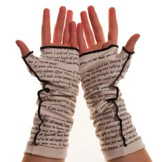Little Women Writing Gloves - Fingerless Gloves | Storiarts