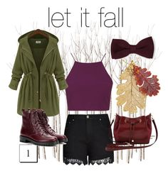 """""""Let it fall ; Part I"""" by genrevkhugo on Polyvore featuring City Chic, Topshop, Gianvito Rossi, M&Co and Zara"""
