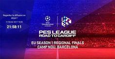 """Finale régionale PES League """"Road to Cardiff EU Saison 1"""" - L'évènement sera diffusé sur la chaîne Twitch de la PES League, permettant aux fans de suivre l'action du stade en temps réel. La diffusion commencera dès 11h00 du matin et permettra d'assister aux..."""
