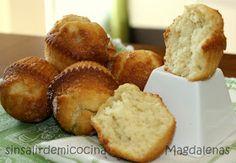 SIN SALIR DE MI COCINA: MAGDALENAS DE LIMON Y CANELA DE BARRIGA Cupcakes, Cake Pops, Muffins, Fondant, Bakery, Recipies, Cookies, Chocolate, Breakfast
