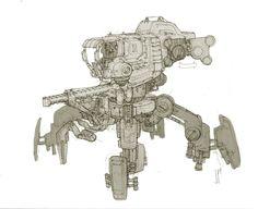 Concept Art World » Mech Concept Designs by John Park