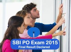SBI PO Exam Final Result 2015 Declared – Check Here