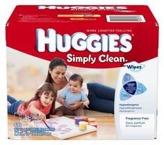 Huggies Simply Clean Fragrance Free Baby Wipes, 400 Count