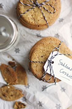♥ Chocolate chip cookies