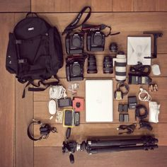 Photography Equipment.. The dream.--if i owned all of this i would 1. have to be rich 2. be so blessed 3. die
