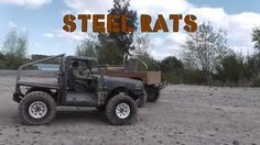 STEELRATS - Home made RC Land Cruiser and Trail truck. Traxxas Slash base.