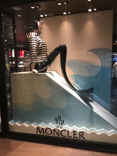 LK By Lincoln Keung - MONCLER Window Display - HARBOUR CITY - HONG KONG
