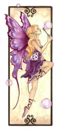 Fairy Art by Amy Brown Bubble Blower