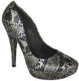FLY LONDON Garage Shoes - Pickard - Womens High Heel Shoe - Black and Silver Snake Size 7 UK Snake effect print, round toe, high heel, platform court shoe. (Barcode EAN = 5051744042103). (Barcode EAN = 5030930052843). (Barcode EAN = 5012822060303). (Barcode EAN (Barcode EAN = 0852277029723). http://www.comparestoreprices.co.uk/womens-shoes/fly-london-garage-shoes--pickard--womens-high-heel-shoe--black-and-silver-snake-size-7-uk.asp