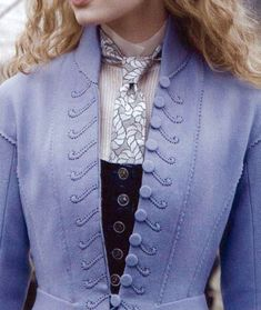 Coat details for Alice in Wonderland by Colleen Atwood
