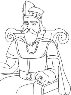 King David and Nathan coloring page Tell THE Story for