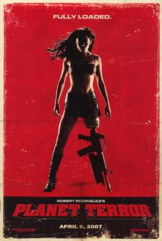 Grindhouse: Planet Terror, starring Rose McGowan, Freddy Rodriguez, Josh Brolin, Marley Shelton, Jeff Fahey and Michael Beihn, with Naveen Andrews, Stacy Ferguson, Nicky Katt and Electra and Elise Avellan. Written and directed by Robert Rodriguez. ($19.99)