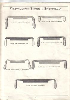 Barold's Tools: Stormont - Fine Edge Tools, 1926 Catalogue and advertising